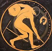 Symbol from ancient Greek Olympics